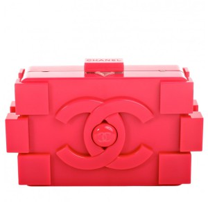 Czerwona Torba Chanel - Lego Clutch Boy Bag